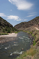 Rio Grande at John Dunn Bridge, Arroyo Hondo, New Mexico.