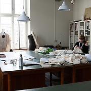 Copenaghen, Denmark, March, 2010. Students form the Danmarks Designskole, <br /> The Danish Design School.