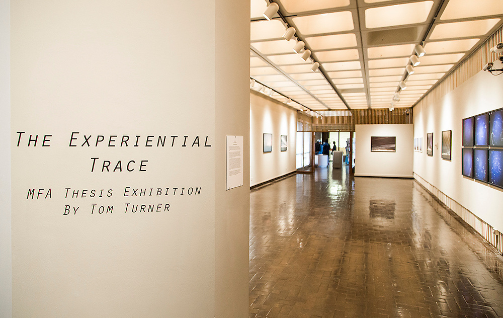 The Experiential Trace, MFA Thesis Exhibition, Presented By Tom Turner, Monday April 21-27 2013 at the Texas Tech School of Art on Tuesday, April 22, 2013.  © Tom Turner Photography 2013