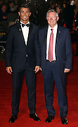 November 9, 2015 - Cristiano Ronaldo and Sir Alex Ferguson attending The World Premiere of 'Ronaldo' at Vue West End, Leicester Square in London, UK.<br /> ©Exclusivepix Media
