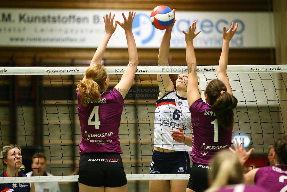 20160409 NED: Volleybal: Sliedrecht Sport - Eurosped TVT, Sliedrecht  <br />Angelique Vergeer