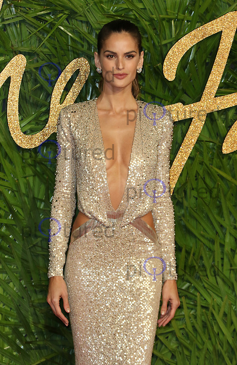 Izabel Goulart, The Fashion Awards 2017, The Royal Albert Hall, London UK, 04 December 2017, Photo by Richard Goldschmidt