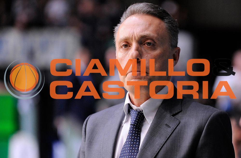 DESCRIZIONE : Cantu' Campionato Lega A 2013-14 Acqua Vitasnella Cantu' Enel Brindisi<br /> GIOCATORE : Piero Bucchi<br /> SQUADRA : Enel Brindisi<br /> EVENTO : Campionato Lega A 2013-14<br /> GARA :  Acqua Vitasnella Cantu' Enel Brindisi<br /> DATA : 16/03/2014<br /> CATEGORIA : Coach Fair Play Ritratto Espressione<br /> SPORT : Pallacanestro<br /> AUTORE : Agenzia Ciamillo-Castoria/A.Giberti<br /> Galleria : Campionato Lega Basket A 2013-14<br /> Fotonotizia : Cantu' Campionato Lega A 2013-14 Acqua Vitasnella Cantu' Enel Brindisi<br /> Predefinita :
