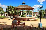 Gazebo in a park in Bauta, Artemisa, Cuba.