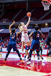NORMAL, IL - November 30: Lexi Wallen during a college women's basketball game between the ISU Redbirds and the Skyhawks of UT-Martin November 30 2019 at Redbird Arena in Normal, IL. (Photo by Alan Look)