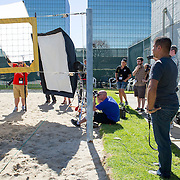 Behind the Scenes with the cast and crew of Sports Shooter Academy.