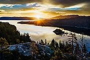 Emerald Bay on the California side of Lake Tahoe