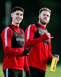 Callum O'Dowda and Tomas Kalas of Bristol City - Rogan/JMP - 03/12/2019 - Failand - Bristol, England - Sky Bet Championship.