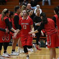 Women's Basketball: Lake Forest College Foresters vs. Carthage College Red Men