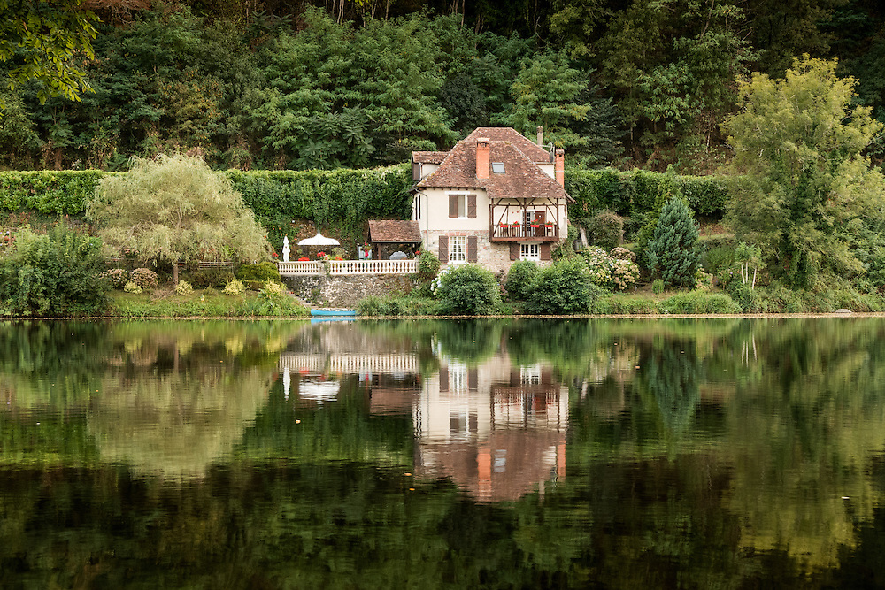 House on the Dordogne River at Beaulieu-sur-Dordogne