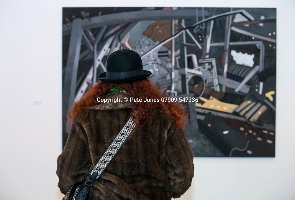 Jerwood Gallery Exhibition;<br /> Gus Cummins: Off The Wall;<br /> Hastings, East Sussex;<br /> 26th January 2018.<br /> <br /> © Pete Jones<br /> pete@pjproductions.co.uk