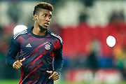 Bayern Munich's French midfielder Kingsley Coman warms up before the UEFA Champions League, Group B football match between Paris Saint-Germain and Bayern Munich on September 27, 2017 at the Parc des Princes stadium in Paris, France - Photo Benjamin Cremel / ProSportsImages / DPPI