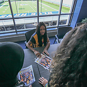 Sydney Renae sign autographs prior to The 15th annual Duffy's Hope Celebrity Basketball Game Saturday, August 05, 2017, at The Bob Carpenter Sports Convocation Center, in Newark, DEL.    <br />