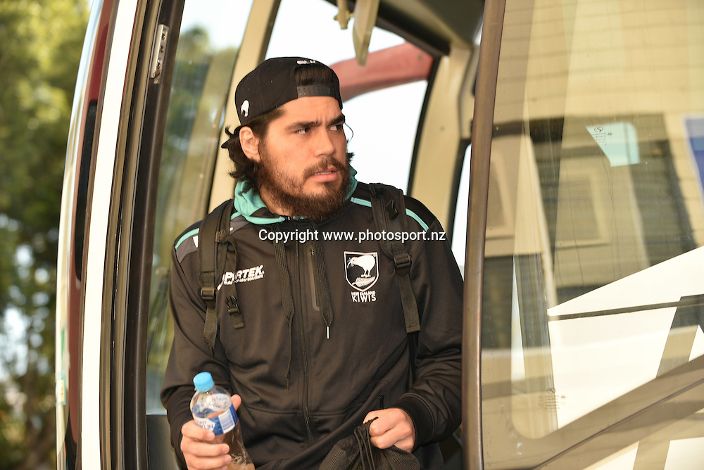 Tohu Harris New Zealand Kiwis rugby league training session, NIB Stadium, Perth, Australia. 12 October 2016 <br /> Credit: Johan Schmidt / www.photosport.nz<br /> Copyright: www.photosport.nz