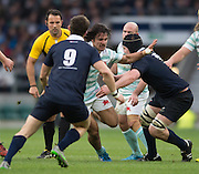 Twickenham, United Kingdom. Daniel DASS going for the gap, during the 2015 Men's Varsity Match, Oxford vs Cambridge, RFU Twickenham Stadium, England.<br /> <br /> Thursday  10/12/2015<br /> <br /> [Mandatory Credit. Peter SPURRIER/Intersport Images].