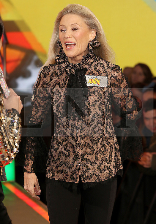 © Licensed to London News Pictures. 03/01/2017. London, UK, Angie Best, Celebrity Big Brother: WInter 2017 - Live Launch Show, Photo credit: Brett Cove/LNP