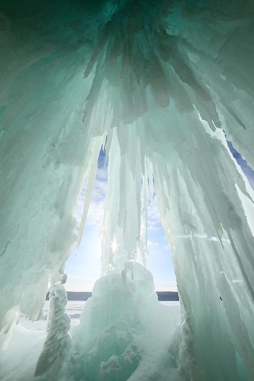 Grand Island Ice Curtains,<br /> Michigan's Upper Peninsula