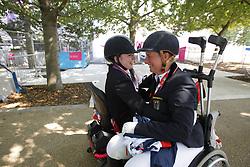Näpel, Britta;<br /> Baker, Natasha, <br /> London Paralympics 2012<br /> Grade II Freestyle<br /> © www.sportfotos-lafrentz.de/ Stefan Lafrentz