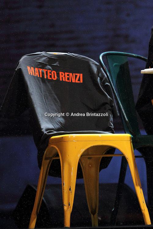 """Firenze, 27 Ottobre 2013. Leopolda 2013 """" Dai un nome al tuo futuro"""" è il motto dell'evento voluto da Matteo Renzi per parlare del futuro dell'Italia presso la Stazione Leopolda a Firenze. Giornata conclusiva."""