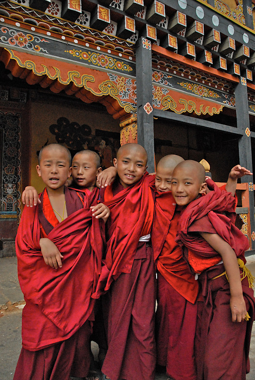 Child Monks, Bhutan