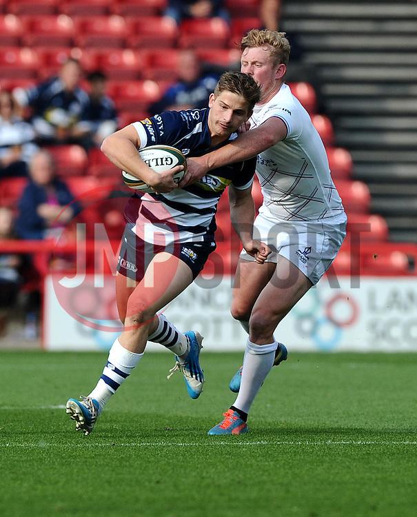 Bristol Rugby Full Back Auguy Slowik  - Mandatory byline: Joe Meredith/JMP - 07966386802 - 04/10/2015 - RUGBY - Ashton Gate -Bristol,England - Bristol Rugby v Rotherham Titans - Greene King IPA Championship
