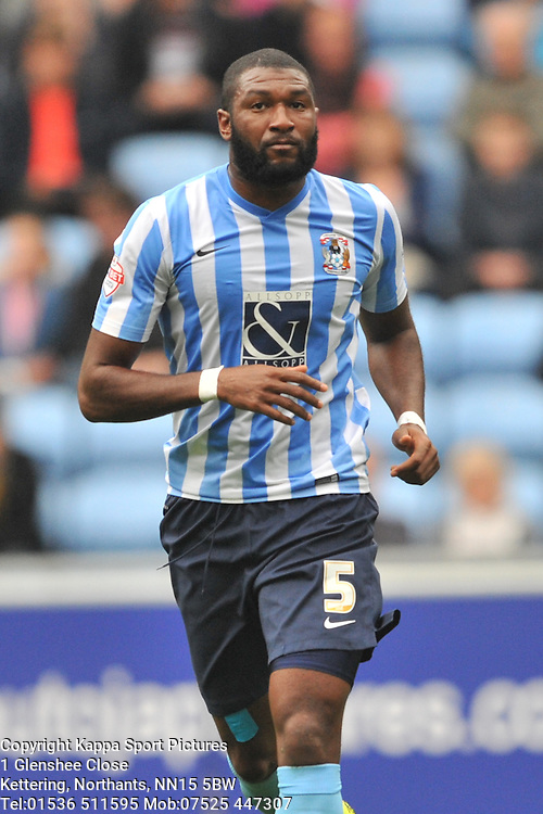 Reda Johnson Coventry City, Coventry City v Shreswsbury Town FC  Ricoh Arena, Football Sky Bet League One, Saturday 3rd October 2015