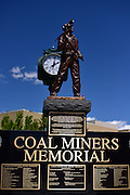 Coal has a long history in Carbon and Emery Counties in Utah.  These photographs tell a story of the families who have experienced tragedies over the past century or more, as written on the plaques adorning the coal miner memorial in the center of the town of Price.  With truckers buzzing through county roads and highways so frequently that a road-side pause makes one immediately wonder where these identical trucks are from, where they're going, and what they're carrying.  Visible from the main roads, the power plants are easily identifiable, with tons of coal offloaded frequently.  <br />