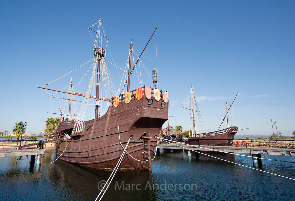 Replica of Columbus' ship, the Santa Maria, Huelva, Spain