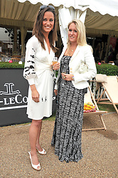Centre & right, PIPPA MIDDLETON and ALEXANDRA SANDBACH at a charity polo match organised by Jaeger Le Coultre was held at Ham Polo Club, Richmond, Surrey on 12th June 2009.