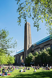 Tate Modern art gallery in London United Kingdom