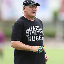 DURBAN, SOUTH AFRICA - MARCH 17:  during the Cell C Sharks training session at Growthpoint Kings Park on March 17, 2015 in Durban, South Africa. (Photo by Steve Haag/Gallo Images)