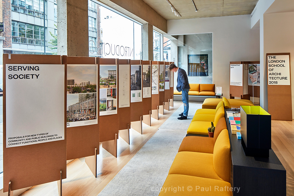 Blueprint for the Future 2018 at Arper showroom Clerkenwell