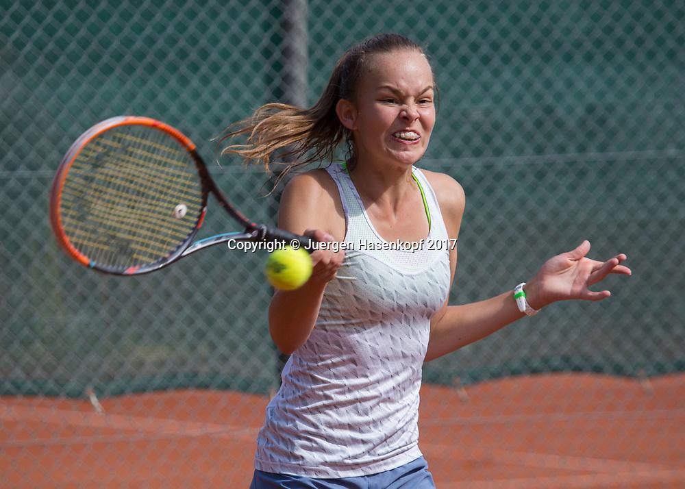 CAROLIN HIMMEL (GER), Bavarian Junior Open 2017, Tennis Europe Junior Tour, GS14<br /> <br /> Tennis - Bavarian Junior Open 2017 - Tennis Europe Junior Tour -  SC Eching - Eching - Bayern - Germany  - 9 August 2017. <br /> &copy; Juergen Hasenkopf