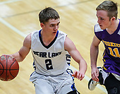 2018 IHSAA Boys Basketball Bear Lake vs N Freemont