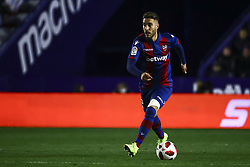 January 10, 2019 - Valencia, Spain - Levante's defender Ruben Rochina  during  spanish King Cup  match between Levante UD v FC Barcelona  at Ciutat de Valencia  Stadium on January  10, 2018. (Photo by Jose Miguel Fernandez/NurPhoto) (Credit Image: © Jose Miguel Fernandez/NurPhoto via ZUMA Press)