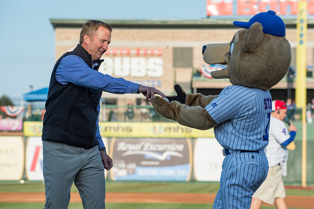 April 8, 2017; South Bend Cubs Opening Day 2017 (Photo by Matt Cashore)