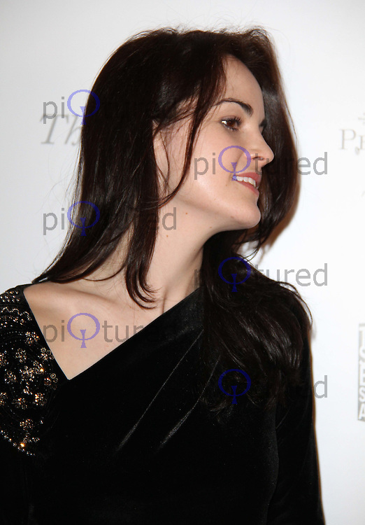 Michelle Dockery The South Bank Sky Arts Awards, Dorchester Hotel, Park Lane, London, UK, 25 January 2011: Contact: Ian@Piqtured.com +44(0)791 626 2580 (Picture by Richard Goldschmidt)