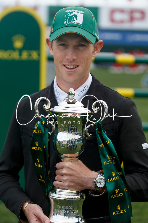Brash Scott, (GBR) winner of the CP International Grand Prix presented by Rolex<br /> Spruce Meadows Masters - Calgary 2015<br /> © Hippo Foto - Dirk Caremans<br /> 14/09/15