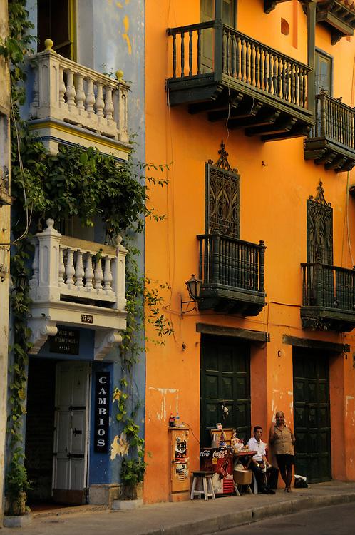 Old Town, Historical Quarter, Cartagena, Department Bolivar, Colombia