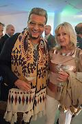 EVGENY MINCHEV; LIZ BREWER, Macmillan De'Longhi Art Auction  to raise money for Macmillan Cancer Support. Royal College of Art, Kensington Gore, London, 25 August 2012