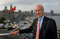 Anthony Bolton, Fidelity China Special Situations PLC manager visited 3 on the Bund in Shanghai.