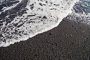 Waianapanapa, Black Sand Beach, State Park, Hana Road, Maui, Hawaii