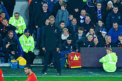 LIVERPOOL, ENGLAND - Monday, December 19, 2016: Liverpool's manager Jürgen Klopp during the FA Premier League match agauinst Everton, the 227th Merseyside Derby, at Goodison Park. (Pic by Gavin Trafford/Propaganda)