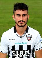 Italian League Serie B_2015-2016 / <br /> ( Ascoli Picchio F.C. 1898 ) - <br /> Marco Frediani