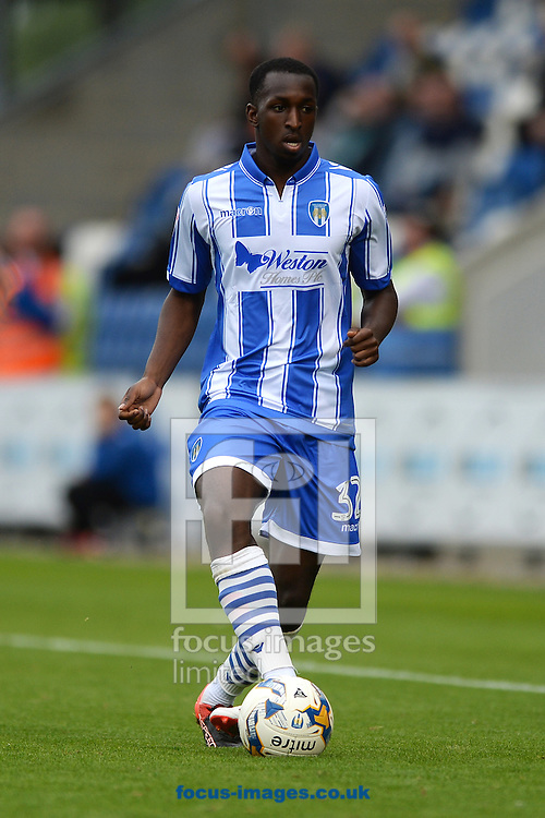 Glen Kamara of Colchester United during the Sky Bet League 2 match between Colchester United and Blackpool at the Weston Homes Community Stadium, Colchester<br /> Picture by Richard Blaxall/Focus Images Ltd +44 7853 364624<br /> 10/09/2016