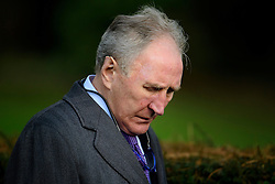© Licensed to London News Pictures. 01/02/2017. Watford, UK. Footballer manager HOWARD WILKINSON attends the funeral of former England football team manager Graham Taylor at St Mary's Church in Watford, Hertfordshire. The former England, Watford and Aston Villa manager,  who later went on to be chairman of Watford Football Club, died at the age of 72 from a suspected heart attack. Photo credit: Ben Cawthra/LNP