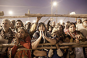 "INDIA, KUMBH MELA, FEB 2013:..People came form all over India to watch the Naga Sadhus, naked Hindu Holy men, bathing on the bangks of Sangam. They wait the whole nigh for it and when the time comes they stand up and they look at Naga Sadhs with adoration and respect...Here is the story of that nigh, for once from the Naga side, focusing on the 40 million people that came to wash away their sins an to watch their "" god "" on earth, Feb 2013...The Maha Kumbh mela is the largest religious gathering on earth is held every 12 years on the banks of Sangam the confluence of the holy rivers Ganga, Yamuna and the Mythical Saraswati. it is expected to attract over 100 million people who will bathe in holy waters to wash away their sins..."