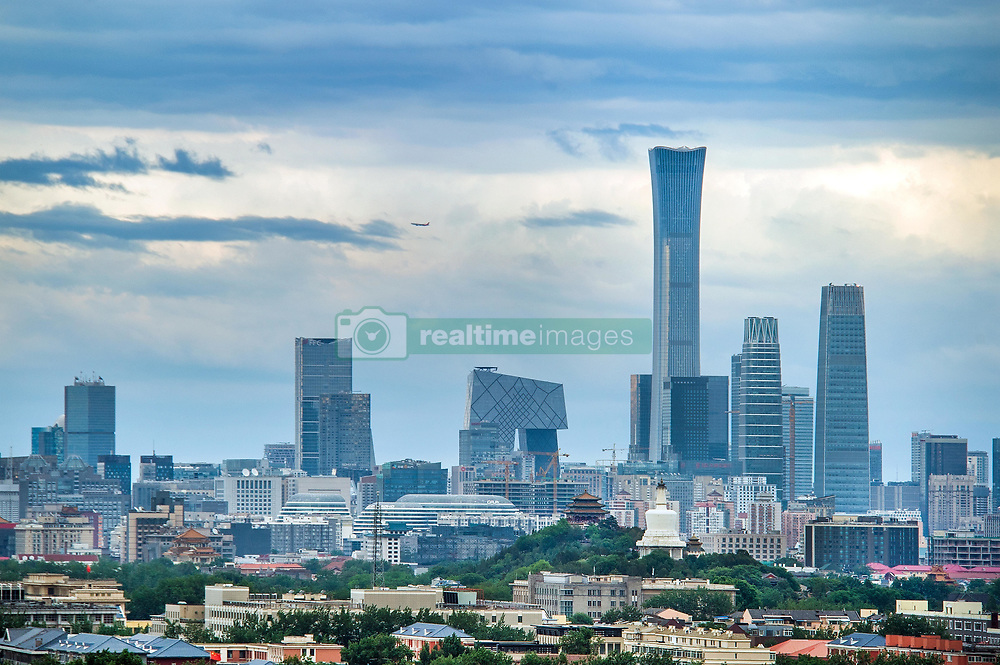 May 27, 2019 - Beijing, Beijing, China - Beijing, CHINA-Scenery of the Central Business District after rain in Beijing, China. (Credit Image: © SIPA Asia via ZUMA Wire)
