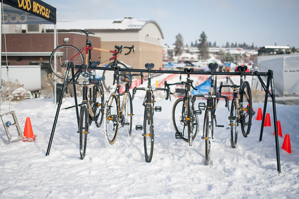 Boo Cycles had a demo fleet on hand for the weekend.  ©Brian Nelson