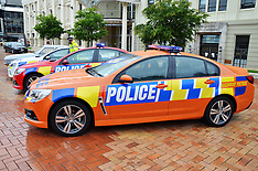 Wellington-Red and Orange police cars to combat summer drivers